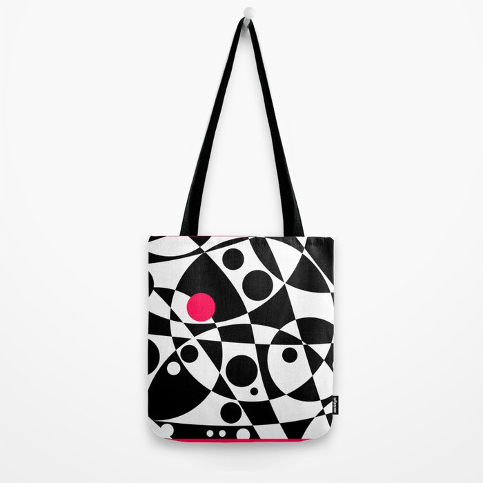 Its Not Just Black or White Tote Bag