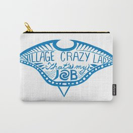 Village Crazy Lady Carry-All Pouch