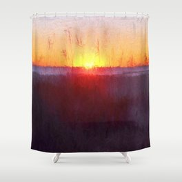 Florida Beach Scene #1 Shower Curtain