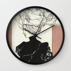 Vintage lady Wall Clock