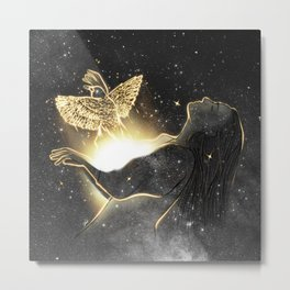 Catch up your dreams. Metal Print