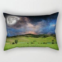 Big Moonscape Rectangular Pillow