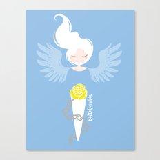 Endometriosis & Depression - Commissioned Work Canvas Print