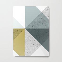 Modern Geometric 16 Metal Print