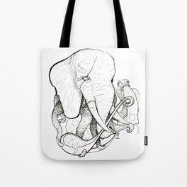 Elephant Chef Tote Bag