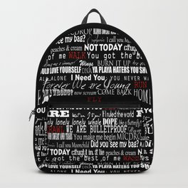 BTS Backpack Backpack