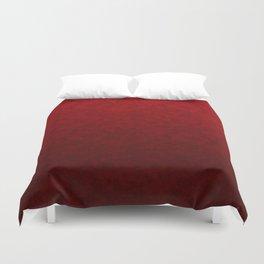 Red marble Duvet Cover