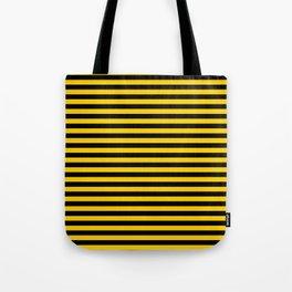 Iowa Team Colors Stripes Tote Bag