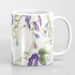 Morning Glory white Coffee Mug