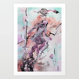 Wut & Ohnmacht Art Print