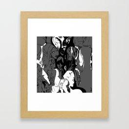 UNDEUXTROIS. Framed Art Print