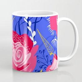 Marsala #illustration #pattern Coffee Mug