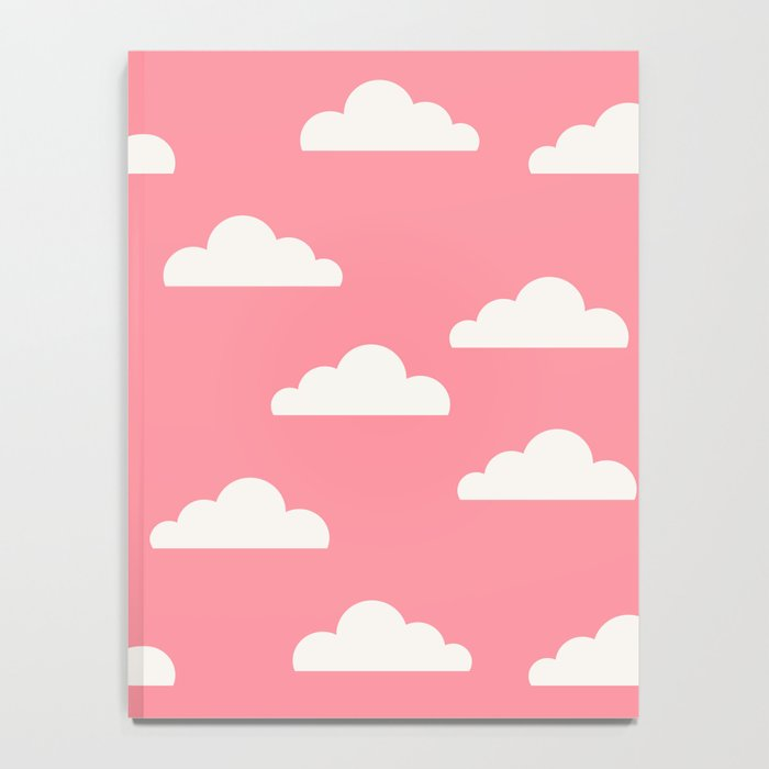 Clouds Pink Notebook