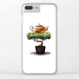 A glass kettle Clear iPhone Case