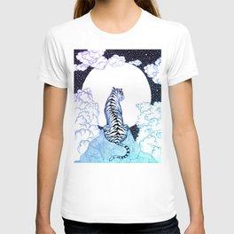 Ombre Tiger Moon T-shirt