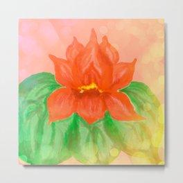 Lotus Light Metal Print