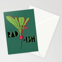 Super Rad Radish Stationery Cards