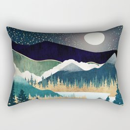 Star Lake Rectangular Pillow