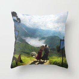 Exodus IV: Nowhere Else To Go Throw Pillow