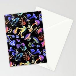 Mushrooms Stationery Cards