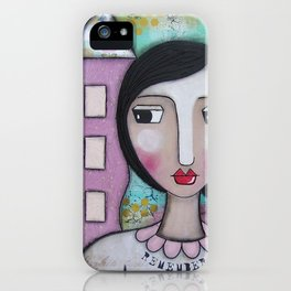 Remember anythin is Possible iPhone Case