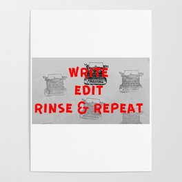 Rinse and repeat Poster