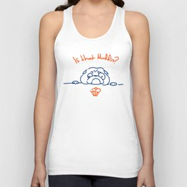 Is that muffin? Unisex Tank Top