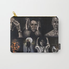 """Moon Over Jackson Pollock"" Carry-All Pouch"