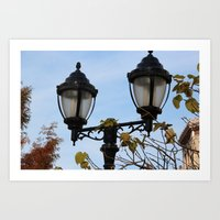 lantern Art Prints featuring Lantern by Innovative Imagery