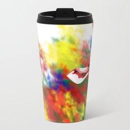 Oblivious Giraffe Travel Mug