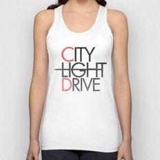 City Light Drive Unisex Tank Top