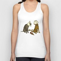 drunk Tank Tops featuring Drunk Dog by Jonah Makes Artstuff