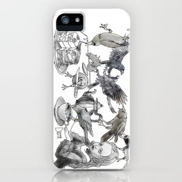 Crow Tea iPhone Case