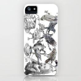 Crow Tea iPhone Case
