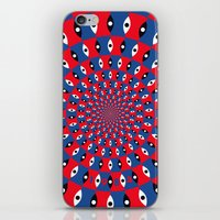 1984 iPhone & iPod Skins featuring 1984 by Kawal Oberoi