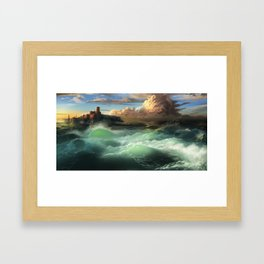 The Cemetery of the Chateau D'if Framed Art Print
