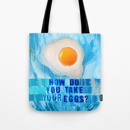 Over Easy Tote Bag