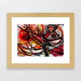 _caos Framed Art Print