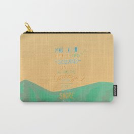 discover new oceans vintage Carry-All Pouch