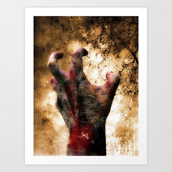 Hand of Doom Art Print