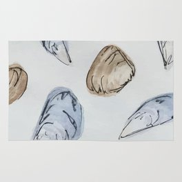 Mussels and Clams Rug