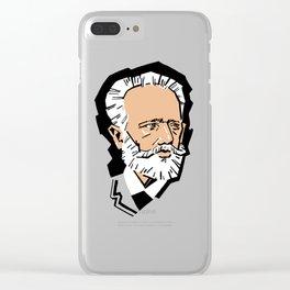 Tchaikovsky Clear iPhone Case