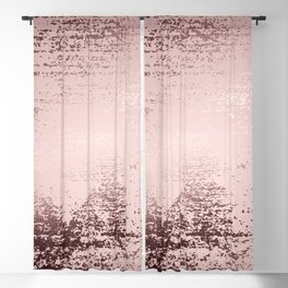 Rose gold marble design Blackout Curtain