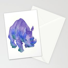 Northern White Rhinoceros Stationery Cards