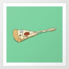 pizza hero Art Print