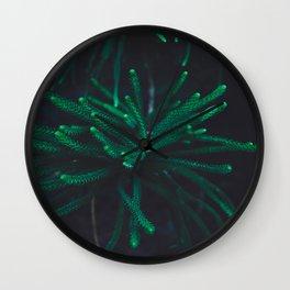 Pine tree Wall Clock