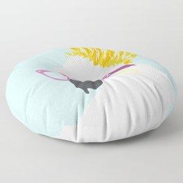Mulberry Cockatoo Floor Pillow