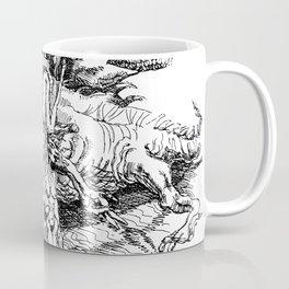 Haruspex through etching Coffee Mug