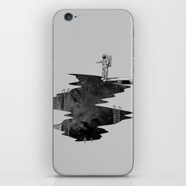 Space Diving iPhone Skin