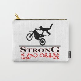 T-Shirt Fun Comic Unisex Strong Carry-All Pouch